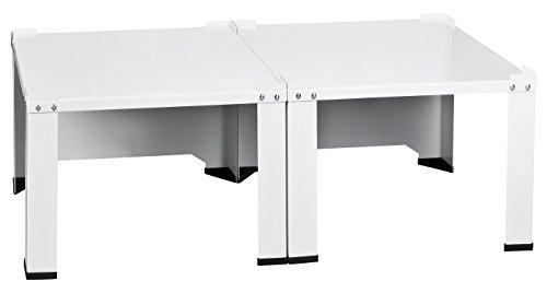 doppel waschmaschinenuntergestell und trockner sockel 2 010 podest untergestell f r. Black Bedroom Furniture Sets. Home Design Ideas